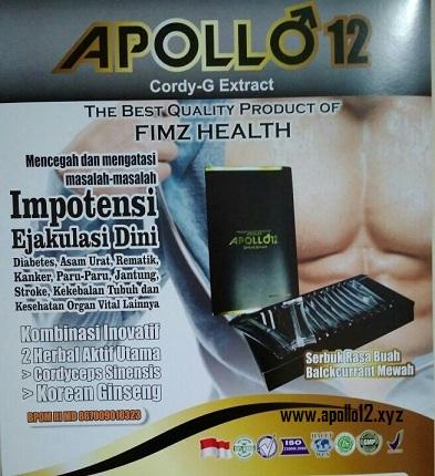 Jual Produk Herbal Alami Apollo 12 Cordy G di Jakarta Utara Hub 081315203378